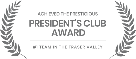 Mike Marfori Fraser Valley Top Realtor President's Club Award